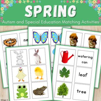 Spring Matching Activities