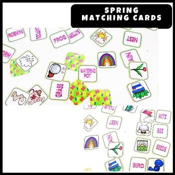 Spring - Matching Cards