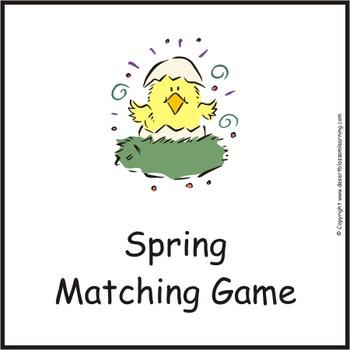 Spring Matching Games eBook