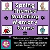 Spring Matching Memory Game