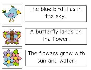 Spring Matching Sentences