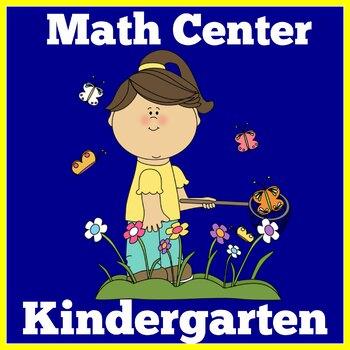 Spring Math Center | Spring Math Kindergarten | Math Center Activity