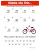 Spring Math Riddles: Elementary Bundle