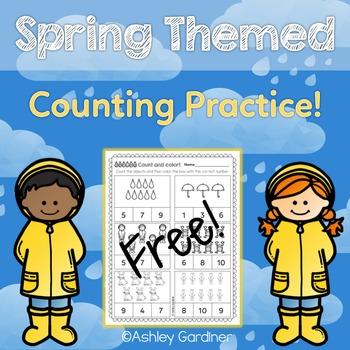 Kindergarten Math FREE