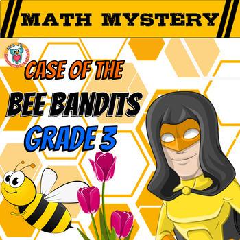 Spring Activity: Spring Math Mystery - {Grade 3 Division F