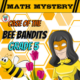 5th Grade Spring Activity: Spring Math Mystery :Division Fractions Decimals ...