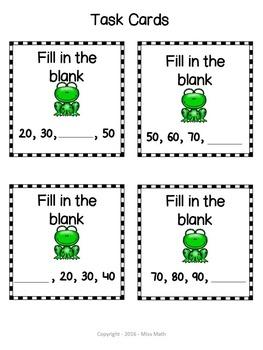 Spring Math Kindergarten