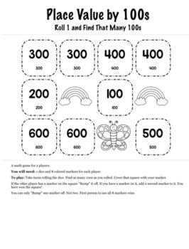 Spring Math 2nd Grade+ Bump Games Bundle