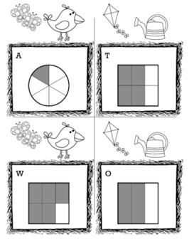 Spring Math 3rd Grade Scavenger Hunt Game Bundle