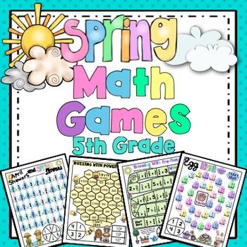 Spring Math: 5th Grade