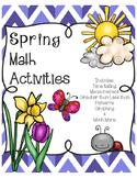 Spring Math Activites