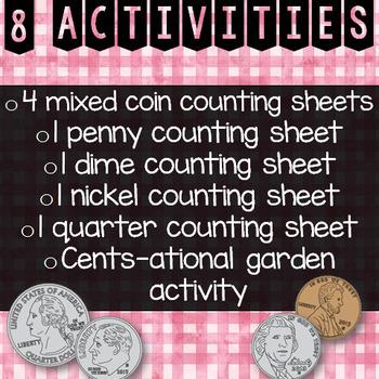 Spring Money Activities