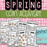 Spring Coin Counting Activities