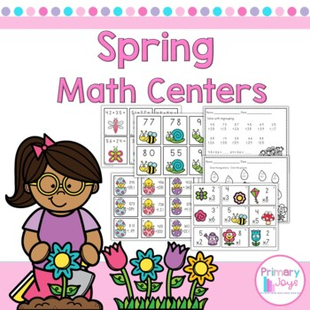 Spring Math Activities - Second Grade