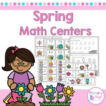 Spring Math Activities - Second Grade