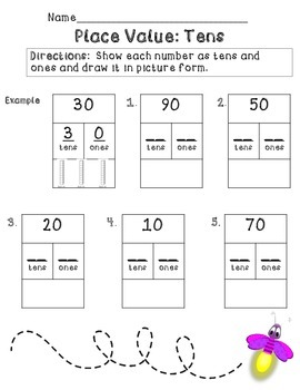 Spring Math Activities (Kindergarten and 1st, Numbers and Operations)