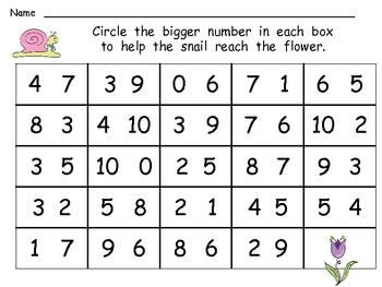 Spring Math Activities for Kindergarten