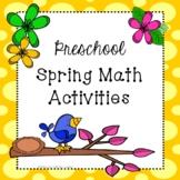 Spring Math Activities for Preschoolers & Toddlers