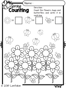 Spring Math Activity