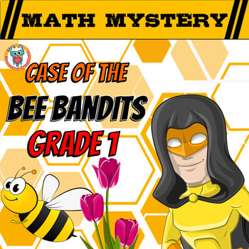 1st Grade Spring Activity: Math Mystery - Addition, Missing Addends, Place Value