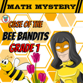 1st Grade Spring Activity: Spring Math Mystery - Addition, Missing Addends, ...