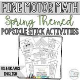 Spring Math Activity Pack for Kindergarten- Number Skills-