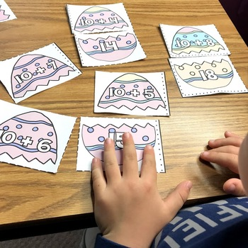 Spring Math Addition and Subtraction Games