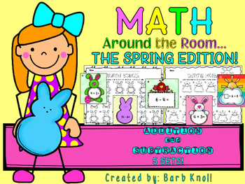 Spring: Math Around the Room