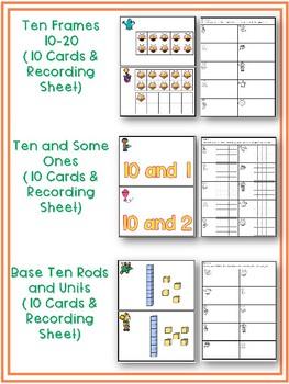 Spring Math Around the Room Bundle