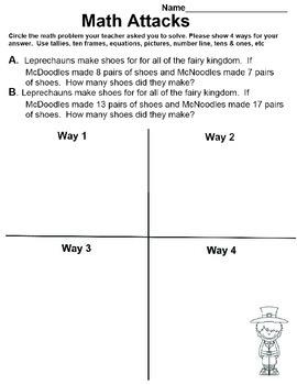 Spring Math Attacks!