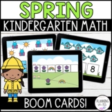 Spring Math Digital Boom Card Bundle for March, April and May