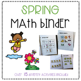 Spring Math Binder