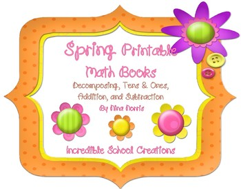 Spring Math Books (5 books in 1 product)