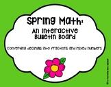Spring Math Bulletin Board Converting Decimals into Fracti