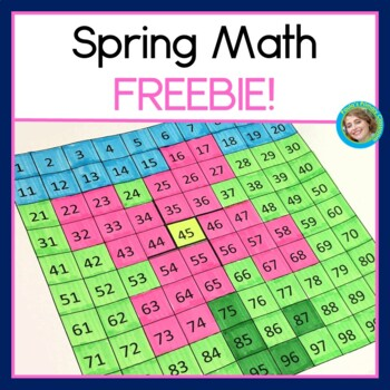 Spring Math Bundle For First Grade FREEBIE!