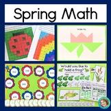 Spring Math Bundle for First Grade