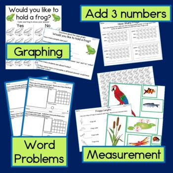 Spring Math Bundle with Hundreds Charts, Time, Word Problems, 2D shapes, Pattern
