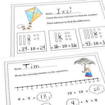 Spring Math CCSS First Grade Just Print It (Common Core)