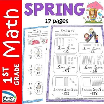 Easter Worksheets 1st Grade Teaching Resources | Teachers Pay Teachers