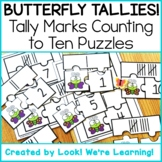Spring Math Center Activities: Butterfly Tally Marks Count