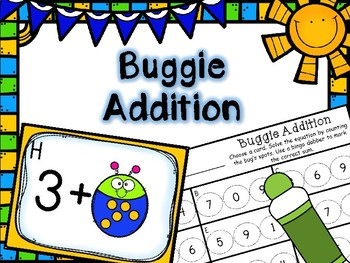 Spring Math Center -- Buggie Addition -- Counting On
