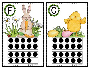 EASTER Math Center: Count the Room and Count On