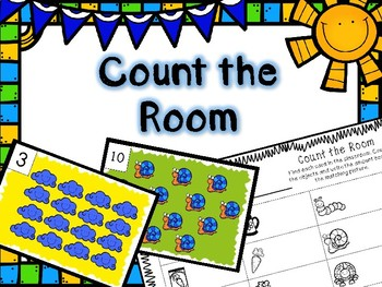 Spring Math Center -- Count the Room