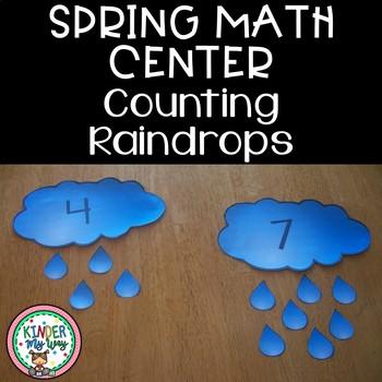 Spring Math Center FREEBIE