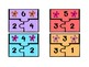 Spring Math Center - Fact Family Number Puzzles