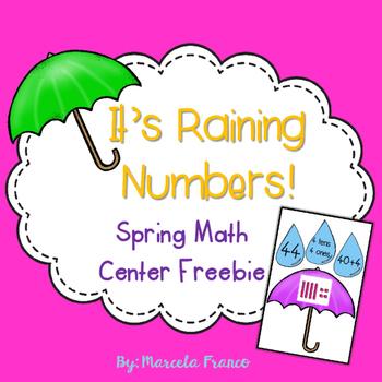 Spring Math Center Freebie- Representing Numbers