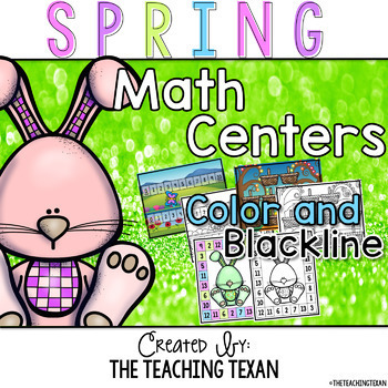 Spring Math Center Games