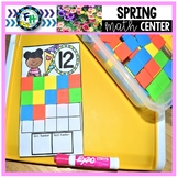 Spring Math Center - Teen Number Count On