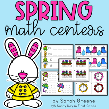 Spring Math Centers!