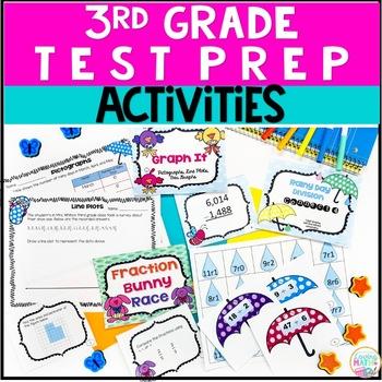 Math Centers - Spring